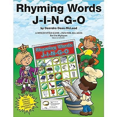 Gary Grimm & Associates® Rhyming Words Jingo Game, Grades kindegarten - 3rd