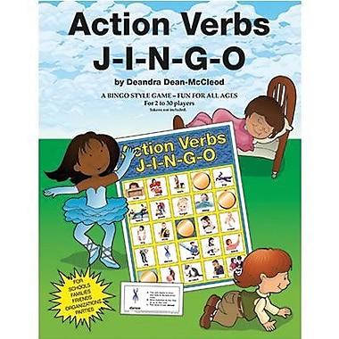 Gary Grimm & Associates® Action Verbs Jingo Game, Grades kindegarten - 3rd