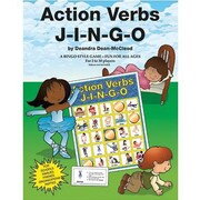 Gary Grimm & Associates® Action Verbs Jingo Game, Grades kindegarten - 3rd