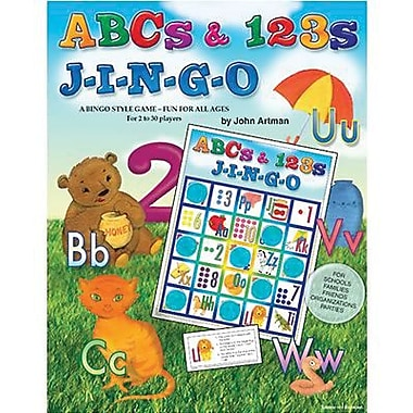 Gary Grimm & Associates® ABCs and 123s Jingo Game, Grades Kindergarten - 3rd