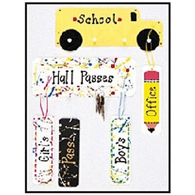 Heart & Sew® Hall Pass, Girl Splatter Paint