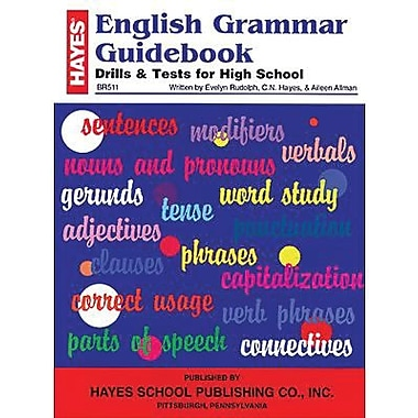 Hayes® English Grammar Guide Book, Grades Senior H