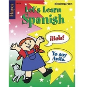 Hayes Let's Learn Spanish Workbook, Grades Kindergarten