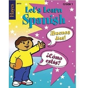 Hayes Let's Learn Spanish Workbook, Grades 1st