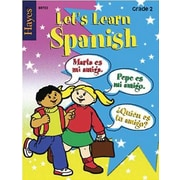 Hayes Let's Learn Spanish Workbook, Grades 2nd
