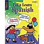 Hayes Let's Learn Spanish Workbook, Grades 3rd