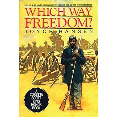 Harper Collins Which Way Freedom? Book By Joyce Hansen, Grades 4th - 7th