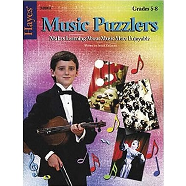 Hayes® Music Puzzlers Book, Level 3