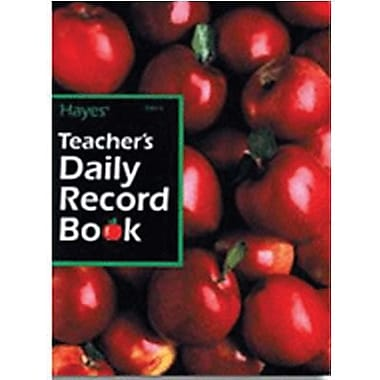 Hayes® Teacher's Daily Record Book, All Grades