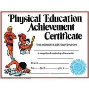Hayes® Physical Education Achievement Certificate, 8 1/2(L) x 11(W)