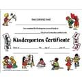 Hayes® White Border Kindergarten Certificate, 8 1/2in.(L) x 11in.(W)