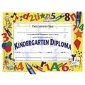 Hayes® White Border Kindergarten Diploma Certificate, 8 1/2in.(L) x 11in.(W)