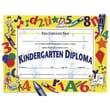 "Hayes® White Border Kindergarten Diploma Certificate, 8 1/2""(L) x 11""(W)"