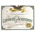Hayes® GreenBorder Certificate of Achievement, 8 1/2in.(L) x 11in.(W), 30/Pack