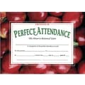 Hayes® Red Border Certificate of Perfect Attendance, 8 1/2in.(L) x 11in.(W), 30/Pack