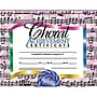 Hayes® Choral Achievement Certificate, 8 1/2(L) x 11(W)