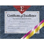 """Hayes® Certificate of Excellence, 8 1/2"""" x 11"""", Grades 1st - 9th"""