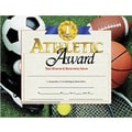Hayes® Brown Border Athletic Award Certificate, 8 1/2in.(L) x 11in.(W)