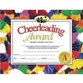 Hayes® Cheerleading Award Certificate, 8 1/2in.(L) x 11in.(W)