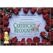 """Hayes® White Border Certificate of Recognition, 8 1/2""""(L) x 11""""(W), 30/Pack"""