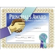 "Hayes® Principal's Award Certificate, 8 1/2""(L) x 11""(W)"