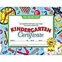 Hayes® Blue Border Kindergarten Certificate, 8 1/2(L) x