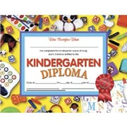 "Hayes® Kindergarten Diploma Certificate With Red Ribbon, 8 1/2""(L) x 11""(W)"