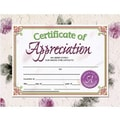 Hayes® Green and Brown Border Certificate of Appreciation, 8 1/2in.(L) x 11in.(W), 30/Pack