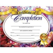 "Hayes® Certificate of Completion, 8 1/2"" x 11"", Grades Kindergarten - 9th"