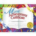 Hayes® White Border Music Achievement Certificate, 8 1/2in.(L) x 11in.(W), 30/Pack