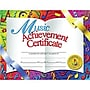 Hayes® White Border Music Achievement Certificate, 8 1/2(L)