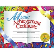 Hayes® White Border Music Achievement Certificate, 8 1/2(L) x 11(W), 30/Pack