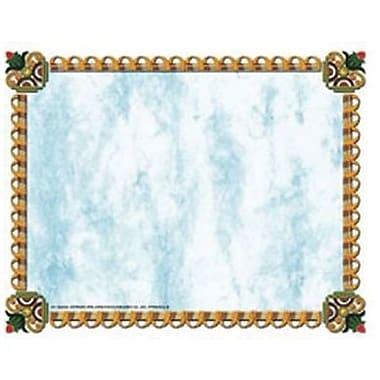 Hayes® 8 1/2in. x 11in. Certificate, Gold Border