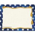 Hayes® 8 1/2in. x 11in. Certificate, Stars Border