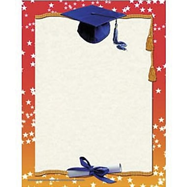 Hayes® 11in. x 8 1/2in. Certificate, Graduation Border