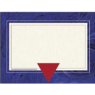 Hayes® 8 1/2in. x 11in. Certificate, Blue Marble Border