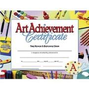 Hayes® Blue Border Art Achievement Certificate, 8 1/2(L) x 11(W)