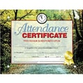 Hayes® Red Border Attendance Certificate, 8 1/2in.(L) x 11in.(W)