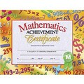 Hayes® Math Achievement Certificate, 8 1/2in.(L) x 11in.(W)