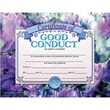 """Hayes® Blue Border Good Conduct Award Certificate, 8 1/2""""(L) x 11""""(W)"""