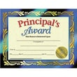 Hayes® Principal's Award Certificate, 8 1/2in.(L) x 11in.(W)