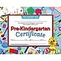 Hayes® Blue Border pre-kindergarten Certificate, 8 1/2(L) x