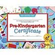 """Hayes® Blue Border pre-kindergarten Certificate, 8 1/2""""(L) x 11""""(W)"""