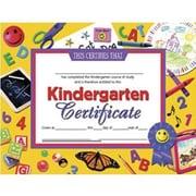 "Hayes® Blue Border Kindergarten Certificate, 8 1/2""(L) x 11""(W), Laser Print"