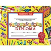 Hayes® Kindergarten Diploma Certificate With Award Seal, 8 1/2(L) x 11(W)