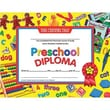 Hayes® Yellow Border pre-school Diploma Certificate, 8 1/2in.(L) x 11in.(W)