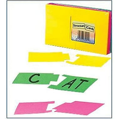 Hygloss® Structure Cards, Grades pre-kindergarten - 7th