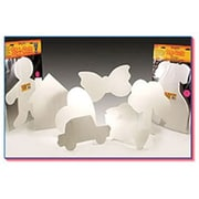 Hygloss® 16 Big Cut-Outs, Wide Butterfly