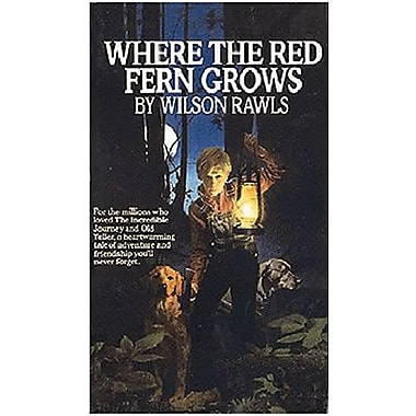 Ingram Book and Distributor Paperback Where The Red Fern Grows Book By Wilson Rawls, Grades 4th-7th