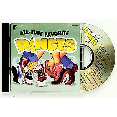 Kimbo® Educational All Time Favorite Dances CD